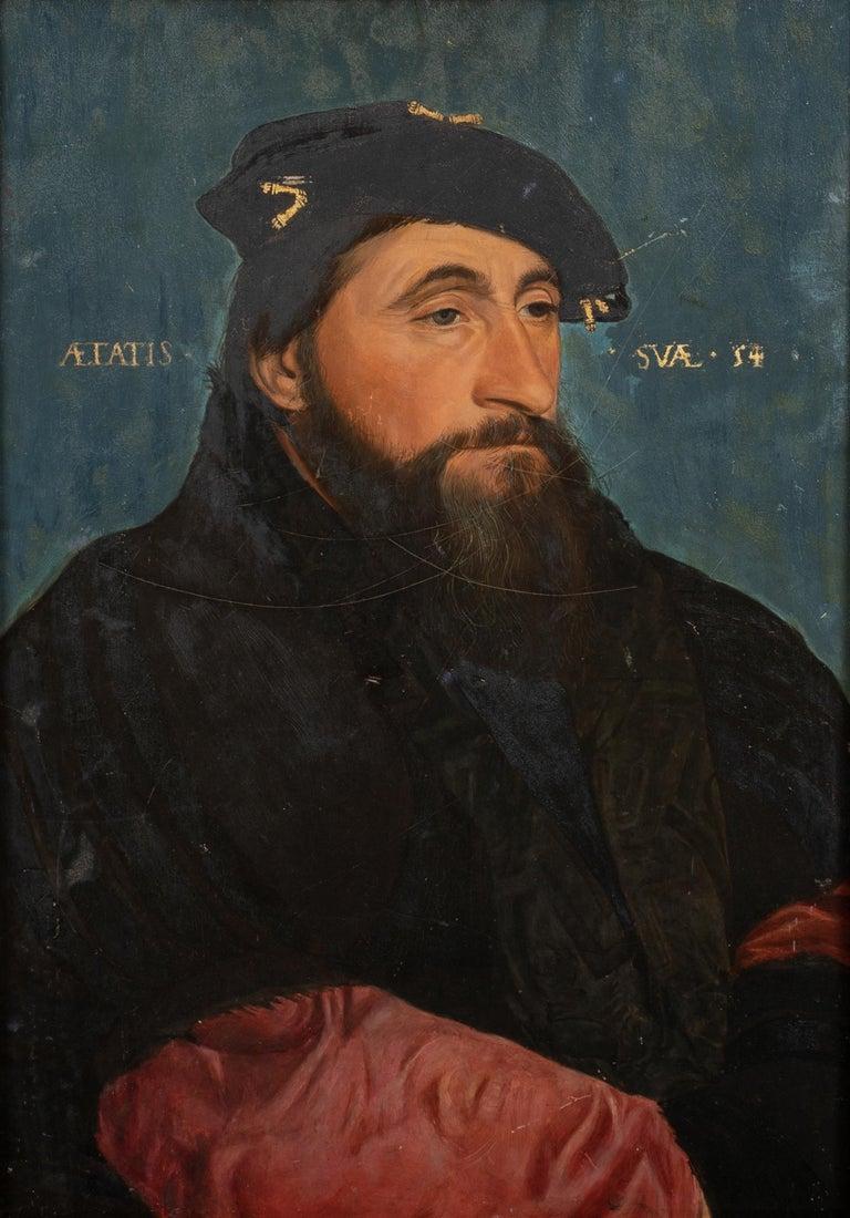 Portrait Of Antoine Le Bon Duke of Lorraine Count of Lotharingen (1489-1544) - Brown Portrait Painting by Hans Holbein