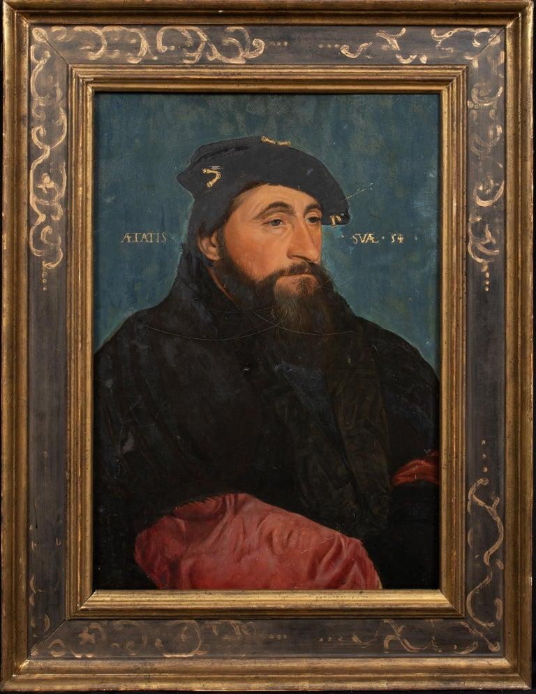 Hans Holbein Portrait Painting - Portrait Of Antoine Le Bon Duke of Lorraine Count of Lotharingen (1489-1544)