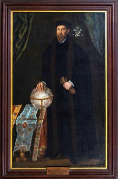 Portrait Of Thomas Smythe (1514-1577) School of Hans HOLBEIN (1497-1543)