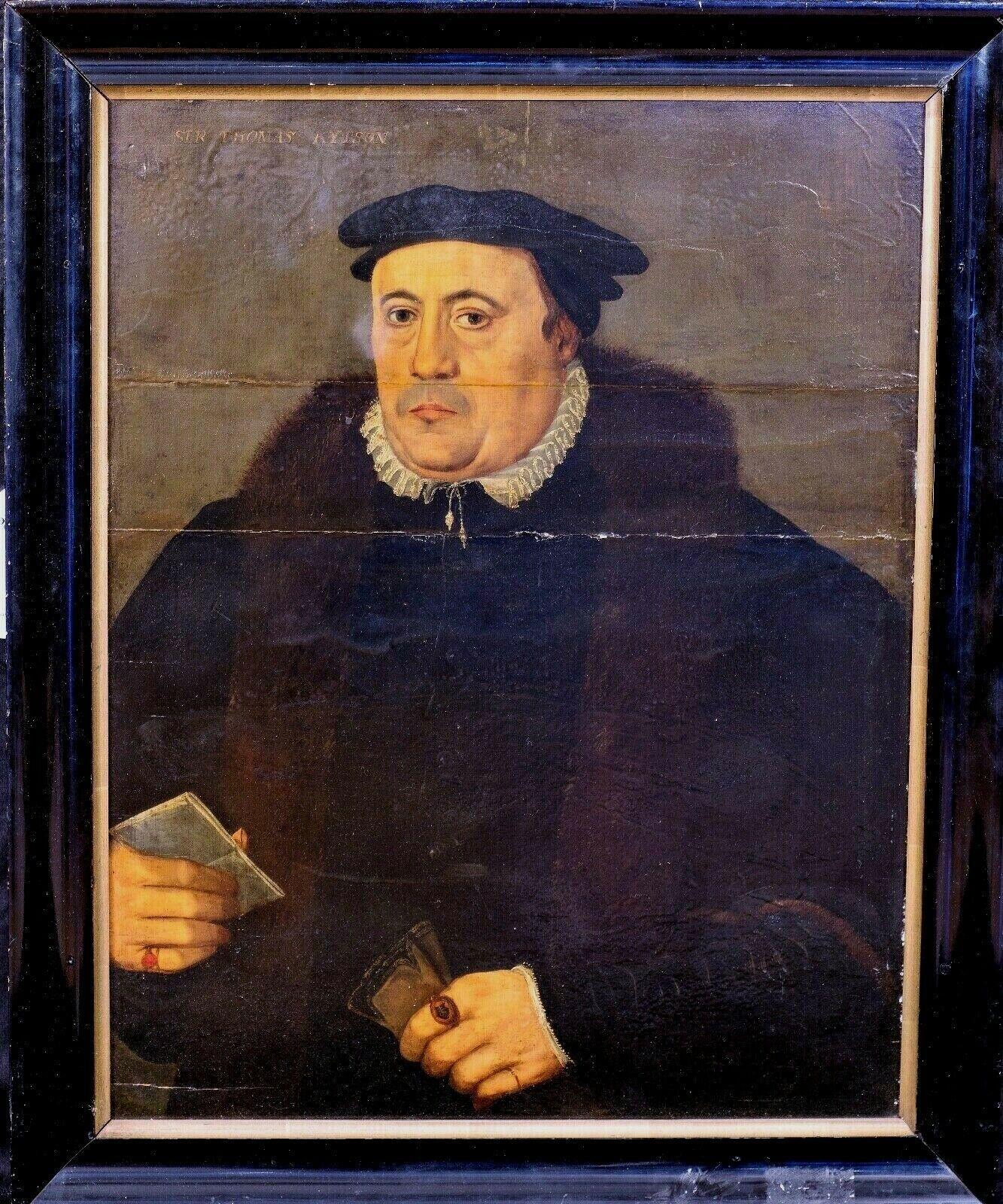 Sir Thomas Kitson (1485 – 11 September 1540), Sheriff Of London, 16th Century