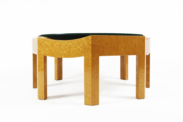 Hard to find Hans Hollein Mitzi table for Poltronova.