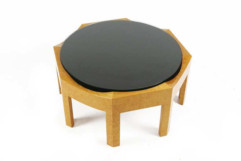 Fabric Hans Hollein Mitzi Coffee Table for Poltronova, Italy 1980s For Sale