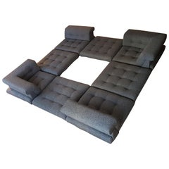 Hans Hopfer Mahjong Sofa from 1970