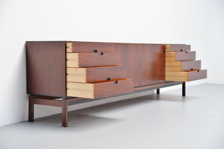 Danish Hans Hove & Palle Petersen Rosewood Sideboard Denmark 1960 For Sale