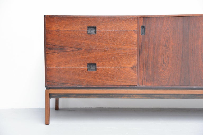 Mid-20th Century Hans Hove & Palle Petersen Rosewood Sideboard Denmark 1960 For Sale