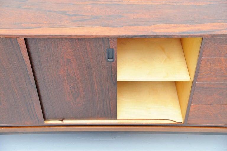 Hans Hove & Palle Petersen Rosewood Sideboard Denmark 1960 For Sale 2