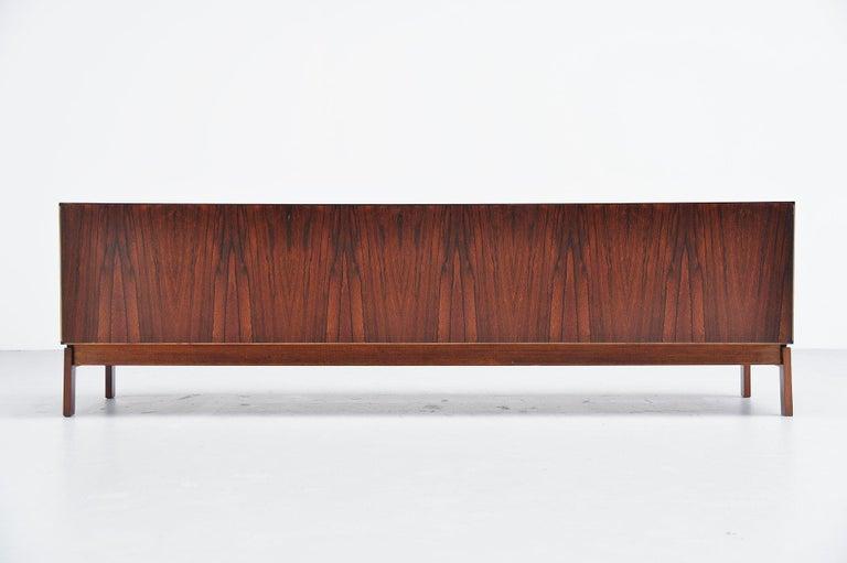 Hans Hove & Palle Petersen Rosewood Sideboard Denmark 1960 For Sale 3