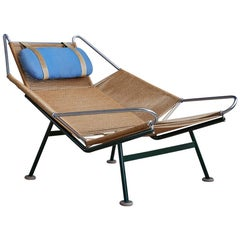 "Hans J. Wegner 1950s ""Flag Halyard"" Flagline Easy Chair"