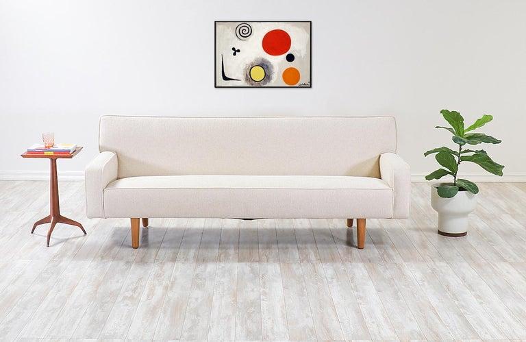 Mid-Century Modern Hans J. Wegner AP-32 Sofa for A.P. Stolen For Sale