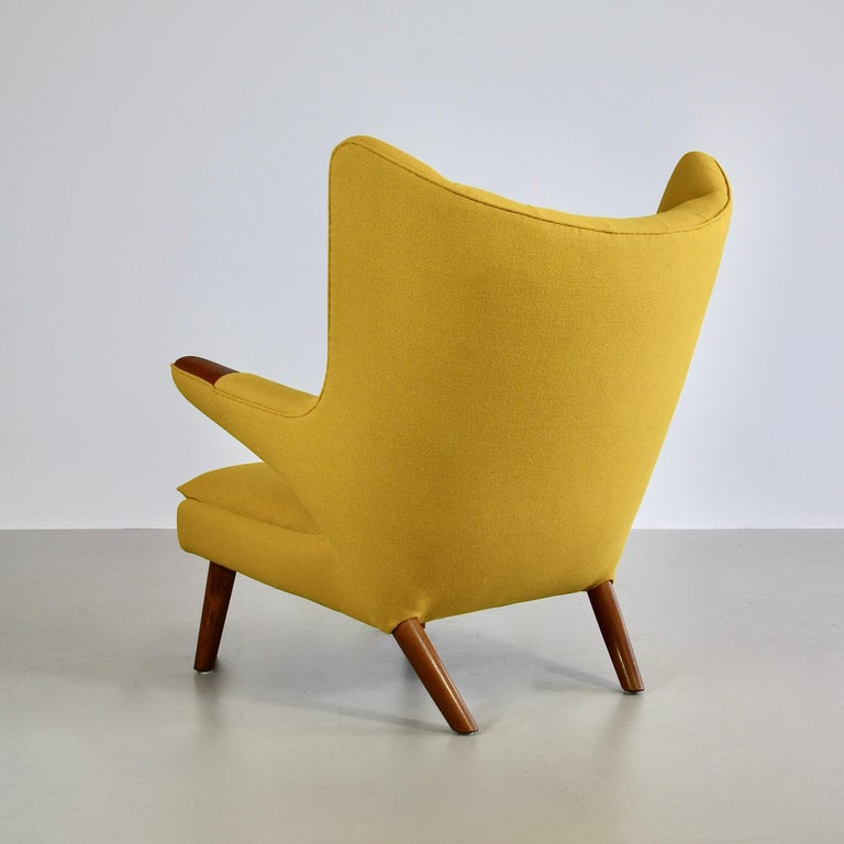 Danish Hans J. Wegner Armchair 'PAPA BEAR' For Sale