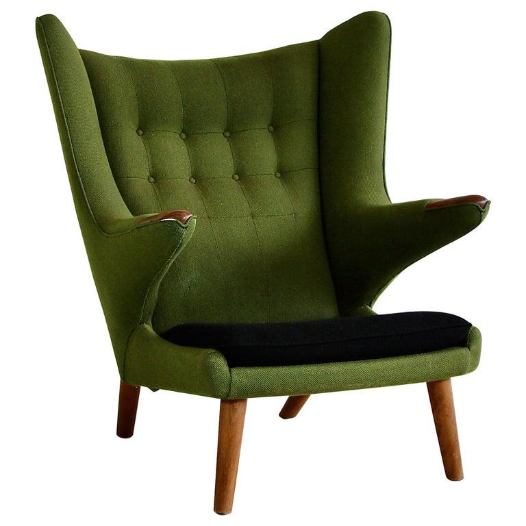 Hans J. Wegner Armchair 'PAPA BEAR'  For Sale
