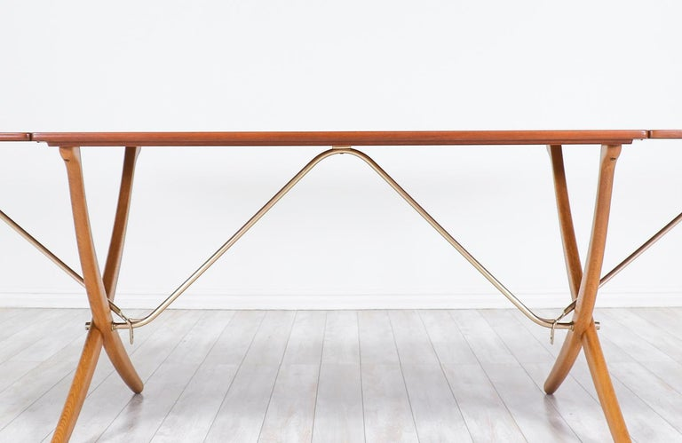 "Hans J. Wegner AT 304 ""Sabre"" Dining Table for Andreas Tuck For Sale 4"