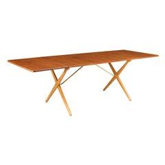 Hans J. Wegner AT-309 Drop-Leaf Dining Table for Andreas Tuck