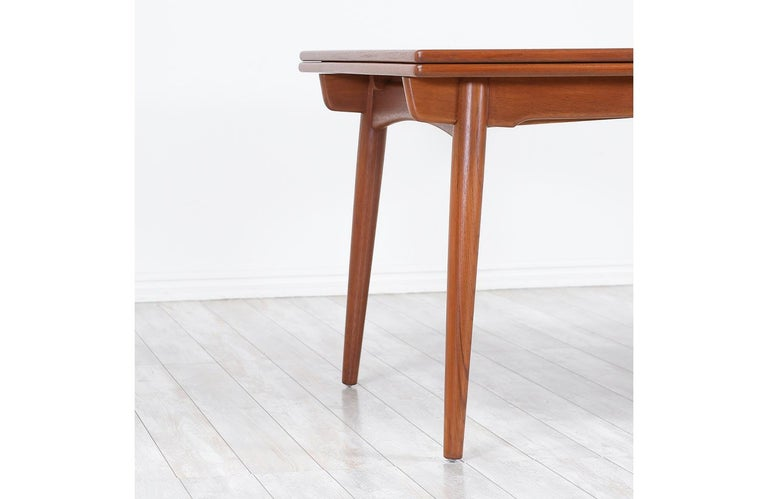 Hans J. Wegner AT 312 Draw-Leaf Dining Table for Andreas 3