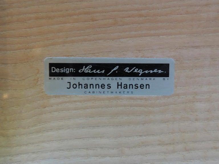 Late 20th Century Hans J. Wegner Bar Bench for Johannes Hansen For Sale