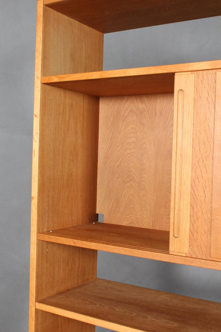 Mid-20th Century Hans J. Wegner Bookcase For Sale