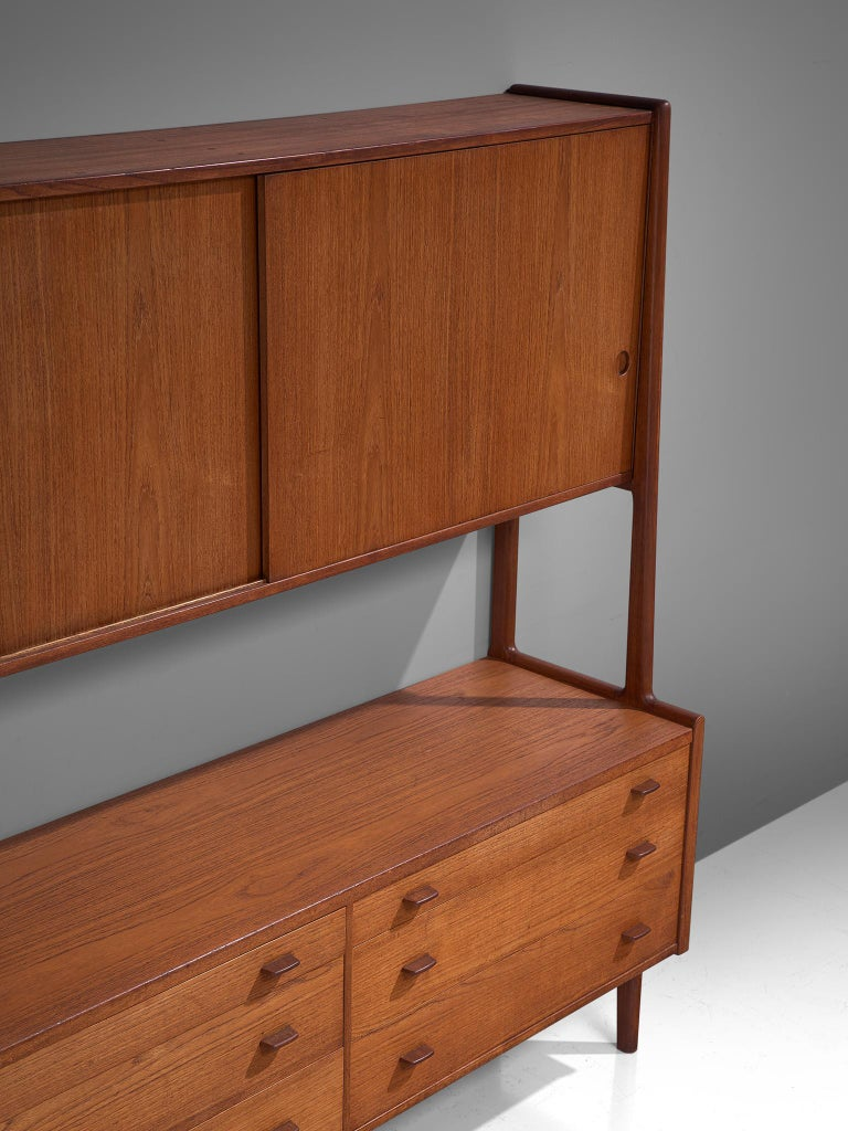 Mid-20th Century Hans J. Wegner Cabinet in Teak For Sale