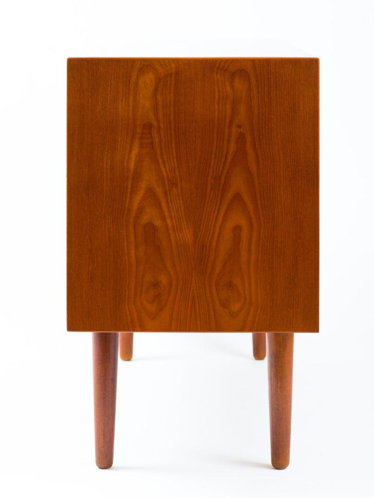 20th Century Hans J Wegner Cabinet in Teak, Johannes Hansen Cabinetmaker, circa 1960 For Sale
