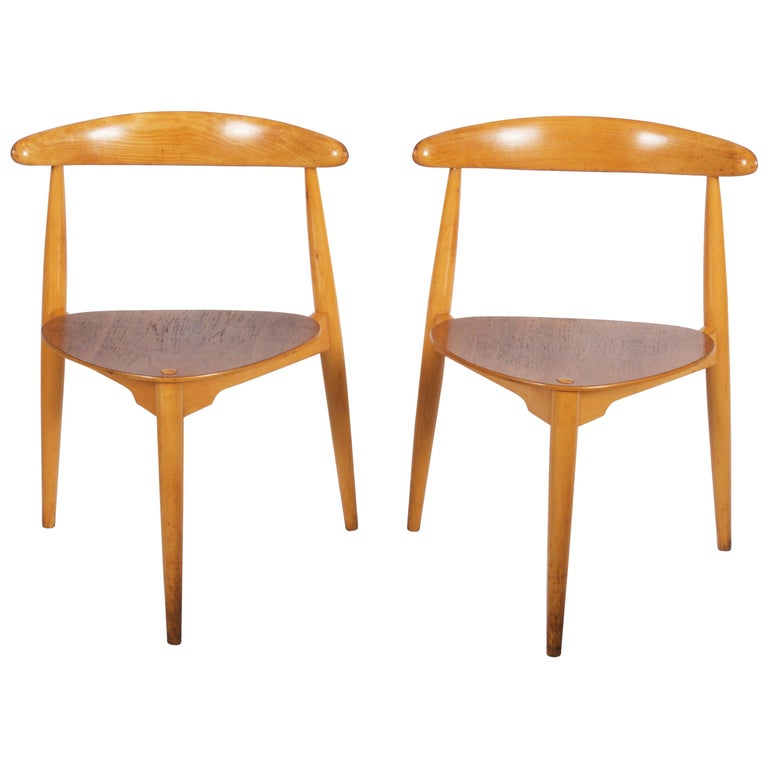 Hans J. Wegner Chair FH 4103 Heart Chair For Sale