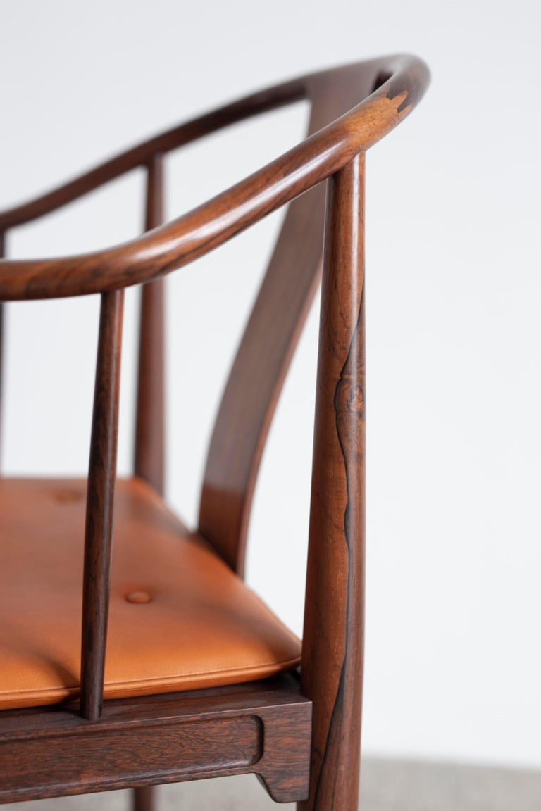 Hans J. Wegner China Chair in Rosewood for Fritz Hansen, 1944 For Sale 1