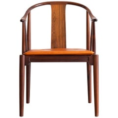 Hans J. Wegner China Chair in Rosewood for Fritz Hansen, 1944