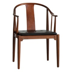 Hans J. Wegner Chinese Chair of Walnut for Fritz Hansen
