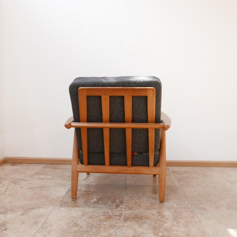 Oak Hans J Wegner 'Cigar' GE-240 Armchair for GETAMA For Sale