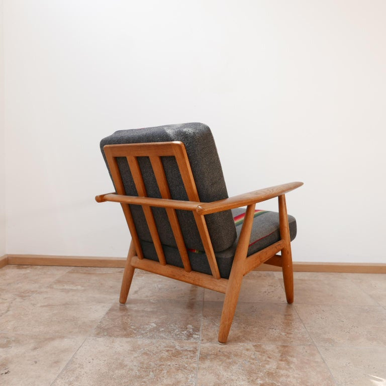 Hans J Wegner 'Cigar' GE-240 Armchair for GETAMA For Sale 1