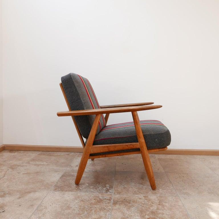 Hans J Wegner 'Cigar' GE-240 Armchair for GETAMA For Sale 2