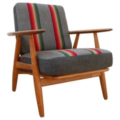 Hans J Wegner 'Cigar' GE-240 Armchair for GETAMA