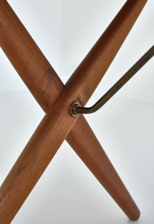 Mid-20th Century Hans J. Wegner Crossed Legs Side Table