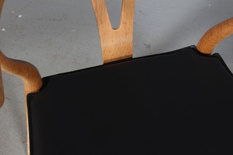 Scandinavian Modern Hans J. Wegner Cushion for Wishbone Chair CH24 For Sale