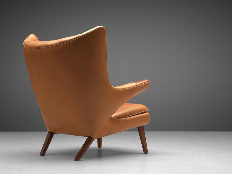 20th Century Hans J. Wegner Customized 'Papa Bear' Chair For Sale