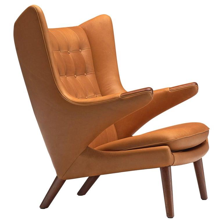 Hans J. Wegner Customized 'Papa Bear' Chair For Sale