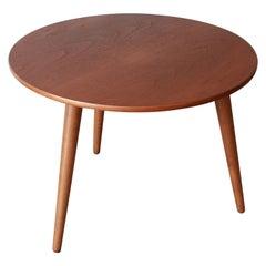 Hans J. Wegner Danish Modern Three-Legged Teak Coffee Table