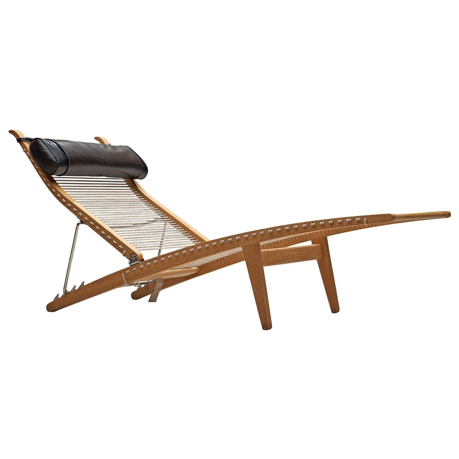 Hans J. Wegner Deck Chair 'PP524'
