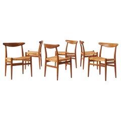 Hans J Wegner Dining Chairs