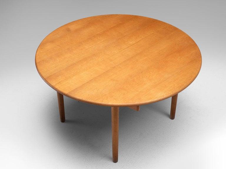 Hans J. Wegner Extendable PP70 Table in Oak 1