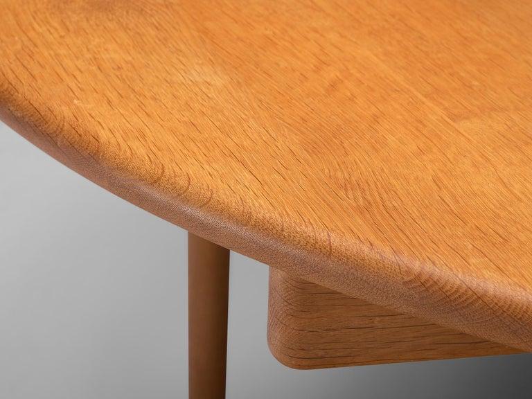 Hans J. Wegner Extendable PP70 Table in Oak 2