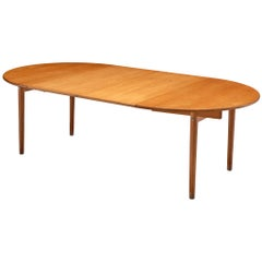 Hans J. Wegner Extendable PP70 Table in Oak