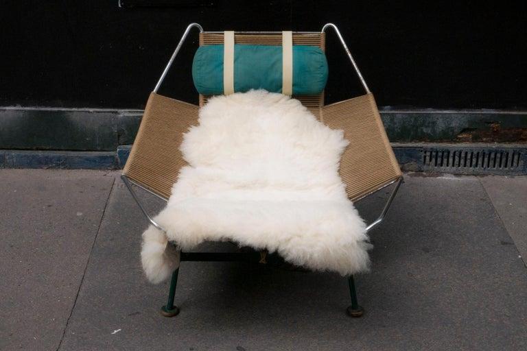 Mid-Century Modern Hans J. Wegner Flag Halyard Chair For Sale