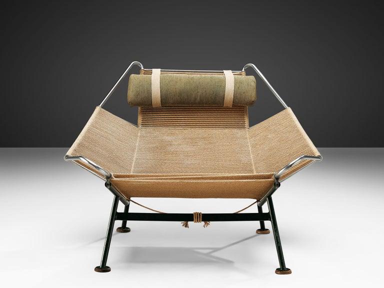 Danish Hans J. Wegner Flag Halyard Chair For Sale