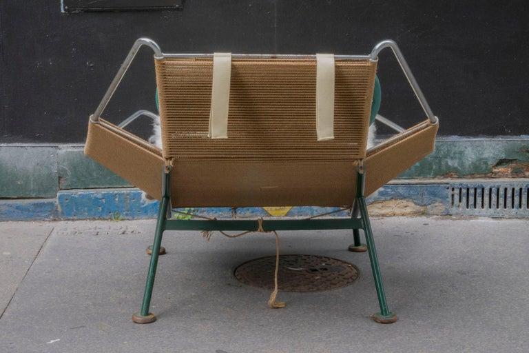 French Hans J. Wegner Flag Halyard Chair For Sale