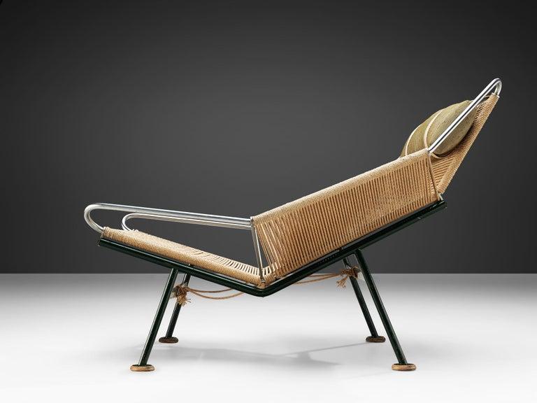 Mid-20th Century Hans J. Wegner Flag Halyard Chair For Sale