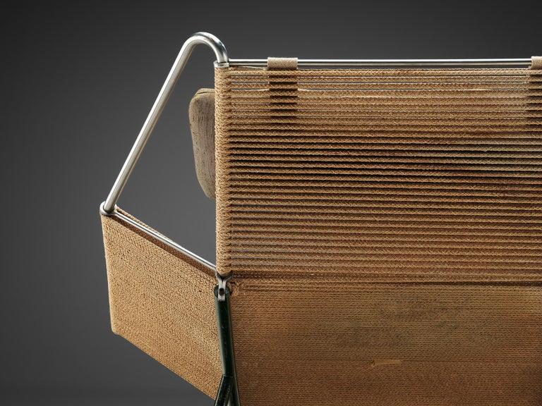 Steel Hans J. Wegner Flag Halyard Chair For Sale