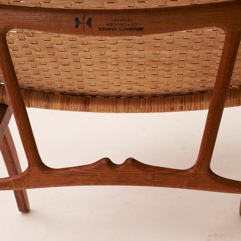 Hans J. Wegner Folding Chair, Model HJ-512 For Sale 2