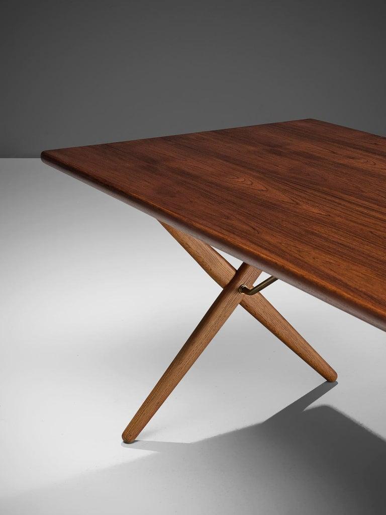 Mid-20th Century Hans J. Wegner for Andreas Tuck Table For Sale