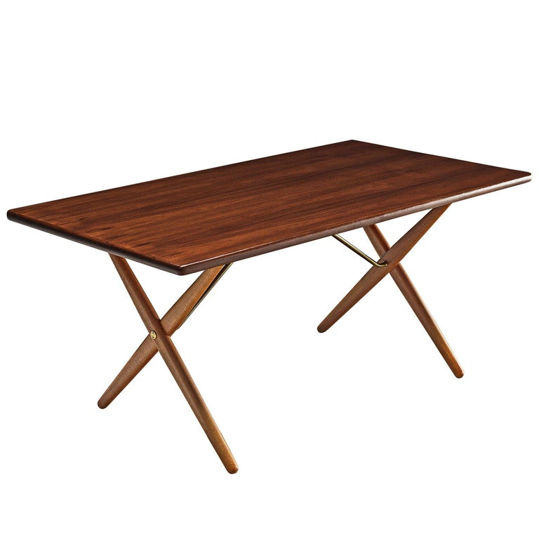 Hans J. Wegner for Andreas Tuck Table For Sale