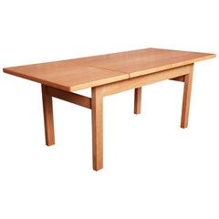 Hans J. Wegner for GETAMA Danish Modern Oak Coffee Table, 1960s