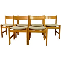 Hans J Wegner for GETAMA Light Oak Chair